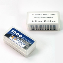 0.35mm Loose Tattoo Needles box of 1000