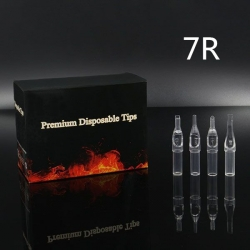 7RT - Short Disposable Tip Clear TL-315 - box of 50