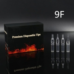 9FT - Short Disposable Tip Clear TL-315 - box of 50