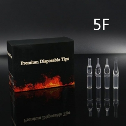 5FT - Short Disposable Tip Clear TL-315 - box of 50