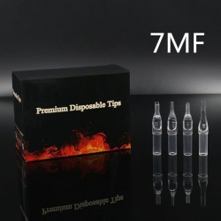 7MF - Short Disposable Tip Clear TL-315 - box of 50