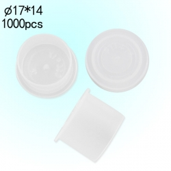 #16 Large Clear Wide Base Ink Cups -BAG OF 1000