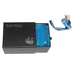 Box Of 100PCS Plastic Blue Tattoo Clip Cord Sleeves Cover
