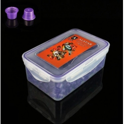 400pcs ALSTAR Ink Cups Purple 17MM