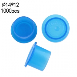 #12 Medium Blue Wide Base Ink Cups -BAG OF 1000