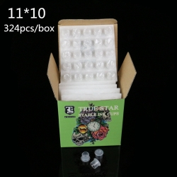 TRUE STAR Diposable Stable Ink Cups 11MM 324pcs/box