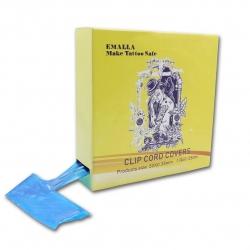 Blue clip cord cover Roll