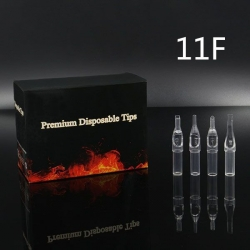 11FT - Short Disposable Tip Clear TL-315 - box of 50