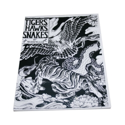 Tigers Hawks Snakes Horimouja Jack Mosher Japanese style tattoo Flash Book