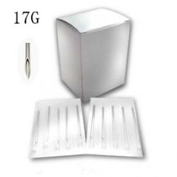 17G Piercing Needles - 100pack