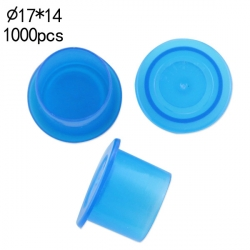 #16 Large Blue Wide Base Ink Cups -BAG OF 1000