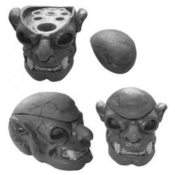 Skull ink holder