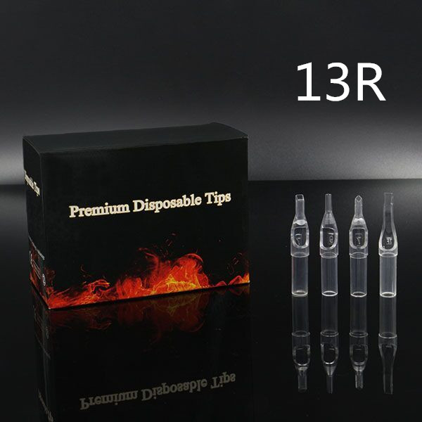 13RT - Short Disposable Tip Clear TL-315 - box of 50