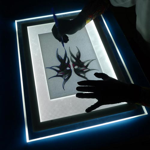 A4 LED Stencil Copy board Table Pad