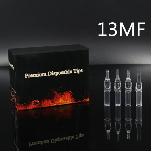 13MF - Short Disposable Tip Clear TL-315 - box of 50