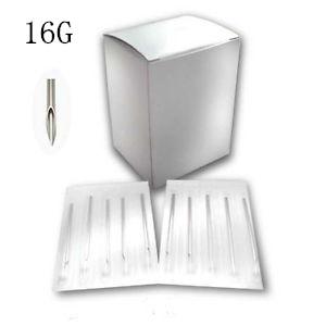 16G Piercing Needles - 100pack
