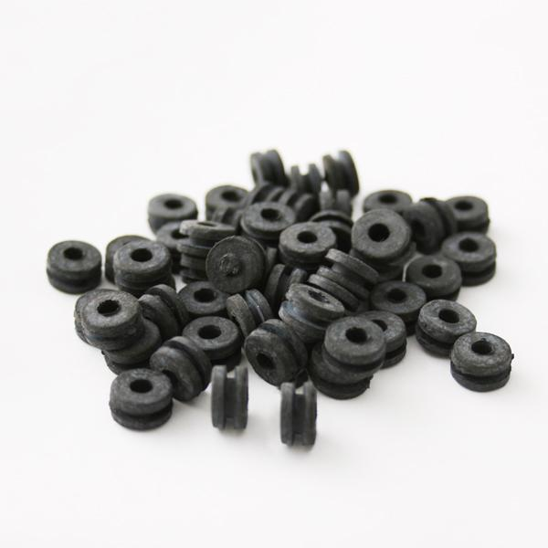 Rubber Grommets for Tattoo Machines- Bag of 100