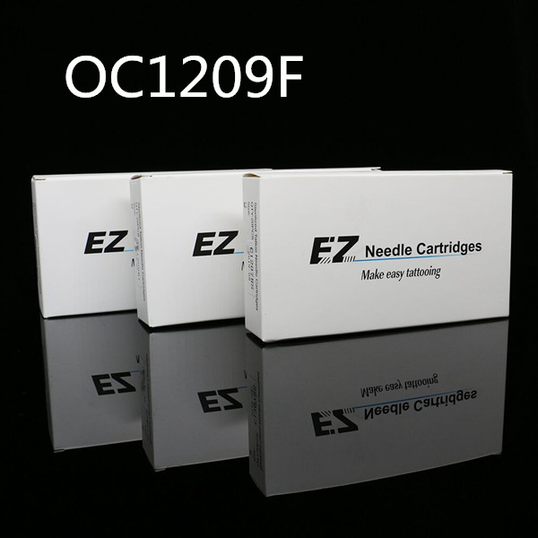 20pcs/box EZ Rubber OPEN Flat Cartridge Hawk Needles-OC1209F
