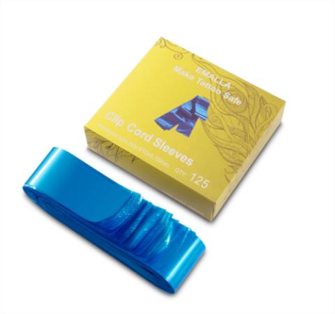 EMALLA Clip Cord Sleeves Blue TA-2012B