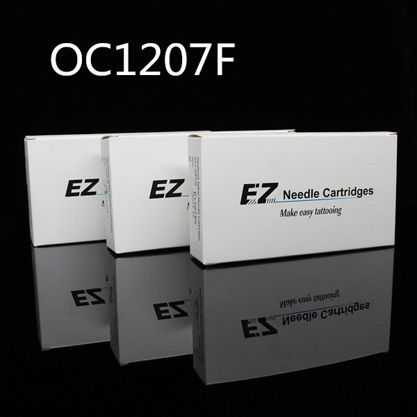 20pcs/box EZ Rubber OPEN Flat Cartridge Hawk Needles-OC1207F
