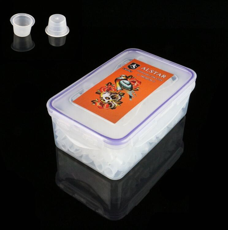 400pcs ALSTAR Ink Cups White 17MM
