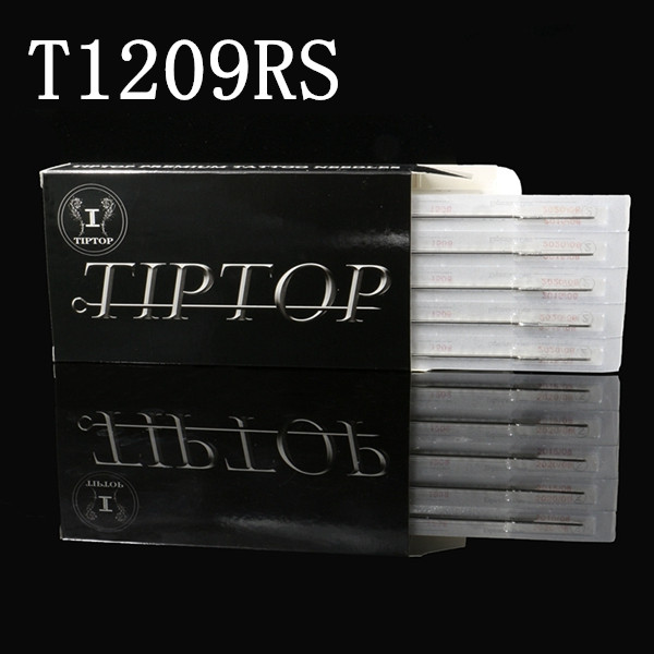 50pcs/box TIPTOP Premium Tattoo Needles T1209RS