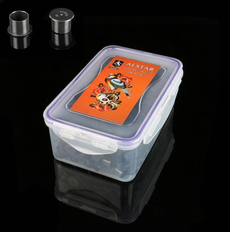 500pcs Self-standing ALSTAR Ink Cups Black 14MM base