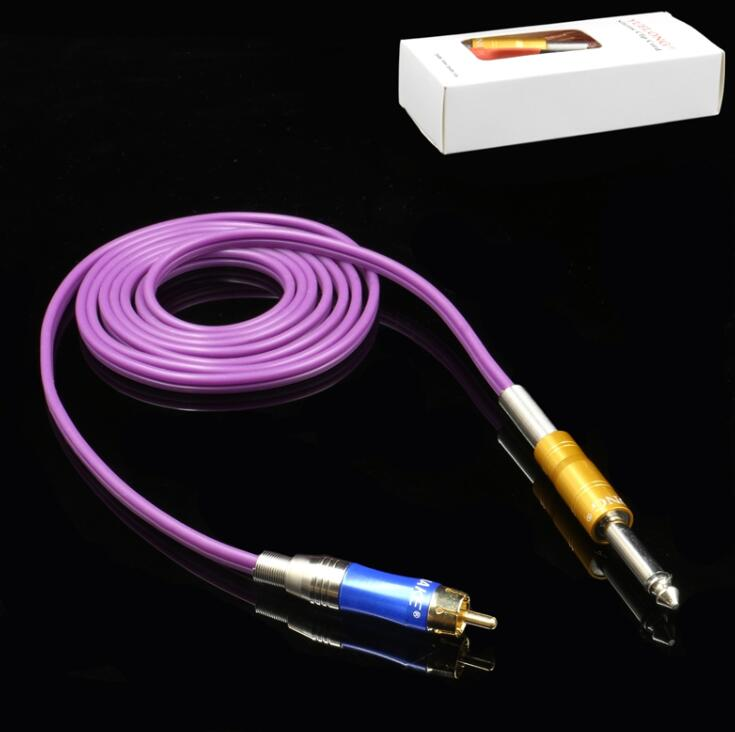 RCA Clip Cord with Soft silicone - Purple