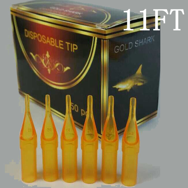 11FT - Short Disposable Tip Yellow TL-312 - box of 50