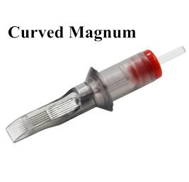 Color Hawk Cartridge Needles with Membrane Round Magnum - RM Series