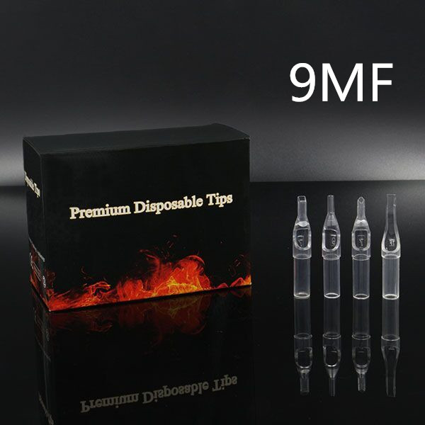 9MF - Short Disposable Tip Clear TL-315 - box of 50