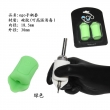 2pcs/set EGO Silicone Tattoo Grip Cover -- green
