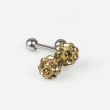 Tattoo Piercing Jewelery ear stud of 10pcs each bag