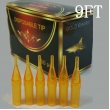 9FT - Short Disposable Tip Yellow TL-312 - box of 50