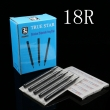50pcs 108MM TRUE STAR Disposable Long Tips 18R