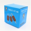 25MM TRUE STAR Disposable Red Tattoo Grips Tubes (Box of 20)
