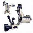 Dragonfly Rotary tattoo Machine Gun with RCA Hoop Hole - silver