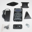 HP-2 Hurricane Black Dual Power Supply Compact Design Wall And Desk Mount