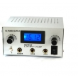 LED Double Jack Digital Power Supply -- silver