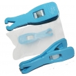 Disposable blue triangle opening piercing pliers box of 50pcs