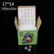 TRUE STAR Dipsoable Stable Ink Cups 17MM 140pcs/box