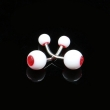 Tattoo Piercing Jewelery navel stud of 10pcs each bag