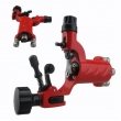 Dragonfly Rotary tattoo Machine Gun with RCA Hoop Hole - red